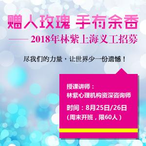2018林紫心理机构上海义工招募