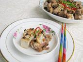 香芋豆豉蒸排骨