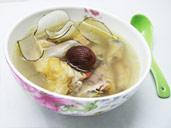 海底椰煲鸡汤