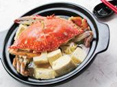 螃蟹煲老豆腐