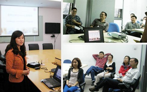 林紫启动某跨国医疗器械公司第三年EAP服务